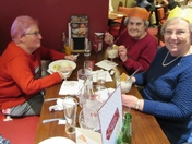 Christmas Lunch for Stisted 123 Tea group and village outing trippers