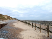 Afternoon walk on West Runton beach
