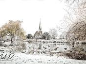 Woodford Bridge - winter wonderland