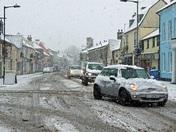 Snow in Hadleigh 10/12/2017