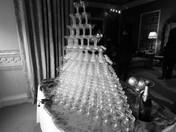 Champagne Flute Pyramid