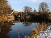 Flatford  in winter