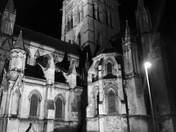 St John the Baptist cathedral at night