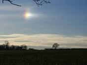 Sundog over Norfolk