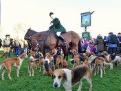 Boxing Day meet at Saxtead Green