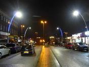 Night Scene in Gants Hill Ilford London
