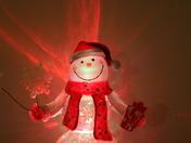 Christmas: Colourful Snowman