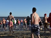 Boxing Day Swimmers at Mundesley