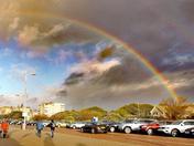 New Year Day Rainbow.