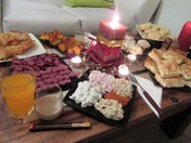 Bulgarian New Year Feast.