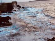 A Stormy Walk ........