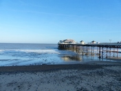 On A Cold But Bright Day At Cromer