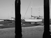 Black and White : Boats