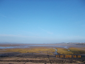 Exe Estuary on misty January morning.