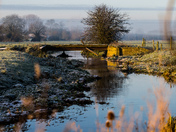 The Fen Bungay, on a frosty day.