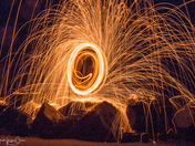 Circles - Wire Wool Spinning