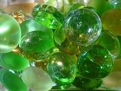 CIRCLES. GLASS BEADS
