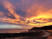 Sunrise at West Runton