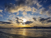 Sunset over Instow Beach
