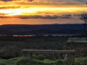 Sunsets around East Devon