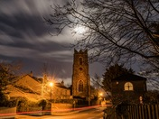 St Margaret's under moonlight
