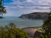 Lynmouth Bay, North Devon