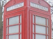 Frosted Phone Box