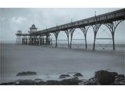 Moody clevedon pier
