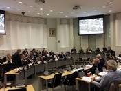 Babergh District Council in session on 20 February 2018