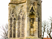 Architecture in Norfolk - Walsingham Abbey remains