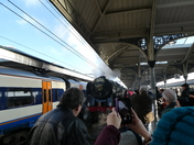 Oliver Cromwell at Norwich Train Station
