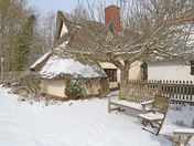 Flatford in the snow