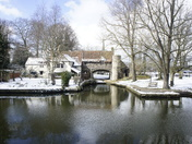Norwich  in the Snow