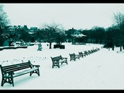 Grove Park in the snow