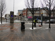 Clearing of snow from Gants Hill