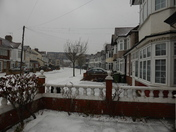 Snow started again in Gants Hill area.
