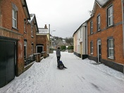 Uphill snow pictures