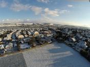 The big freeze over Sticklepath Barnstaple