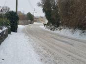 Snowfall in weston
