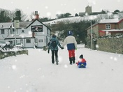 Snow Pictures from around Weston 3