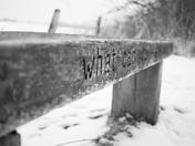 Snowy walk along Marriotts Way