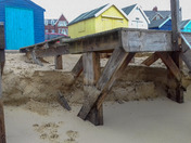 Storm damage at Felixstowe