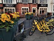 Norwich Dockless bikes