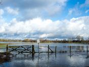 Flooding on Earsham marshes
