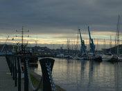 Dusk on the docks.