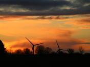 Silhouette: Wind Turbine