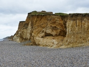 Colourful Cliffs At Weybourne