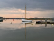The placid River Deben