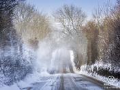 snow in north devon
