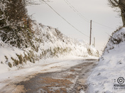 snow in north devon
